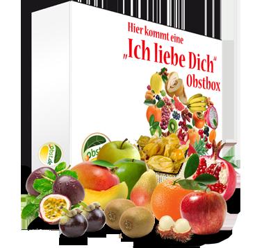 """Die große """"Ich liebe Dich"""" Regio-Exotische Mixbox"""