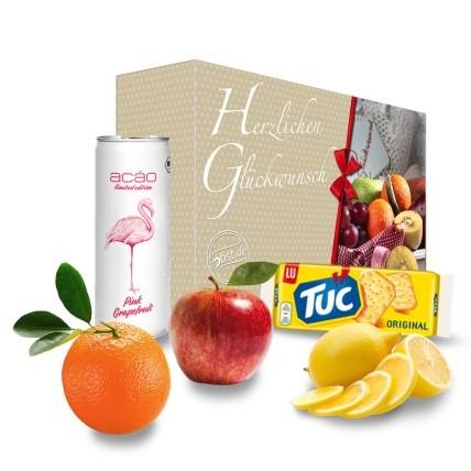 Herzlichen Glückwunsch Grapefruit Energiebox