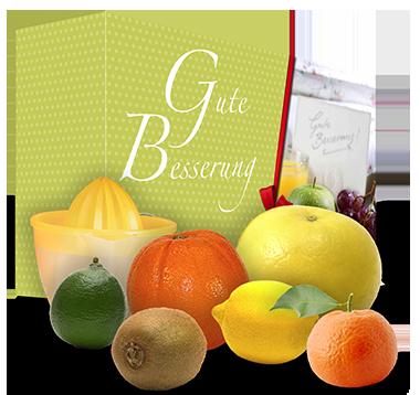 "Das ""Gute Besserung"" Vitamin Sixpack"